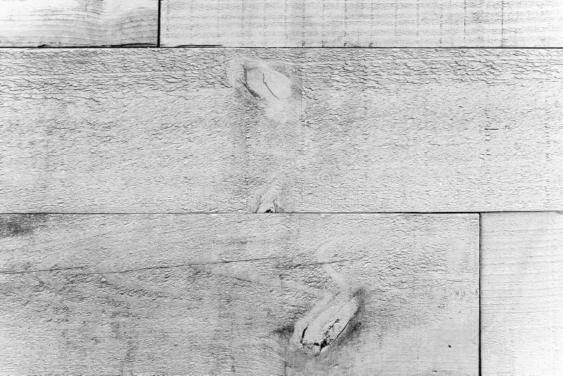 Tablones de madera sucios y resistidos viejos rústicos de la pared gris blanca como fondo inconsútil de la textura de madera foto de archivo