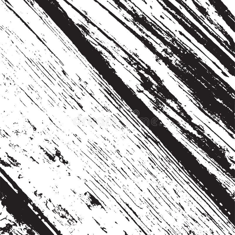 Tablones diagonales de madera ilustración del vector