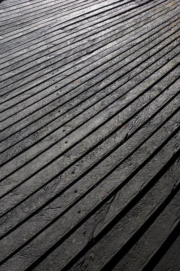 Tablones plásticos textured efecto de madera foto de archivo