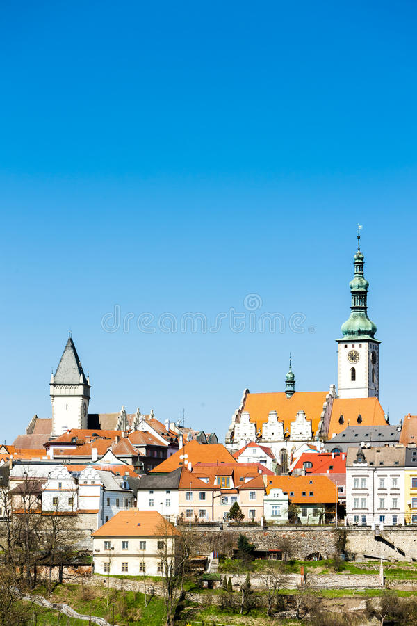Tabor, Czech Republic. View of Tabor, Czech Republic stock images
