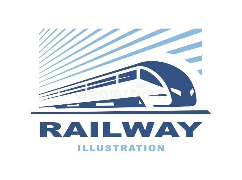 Taborowa logo ilustracja na lekkim tle, emblemat royalty ilustracja