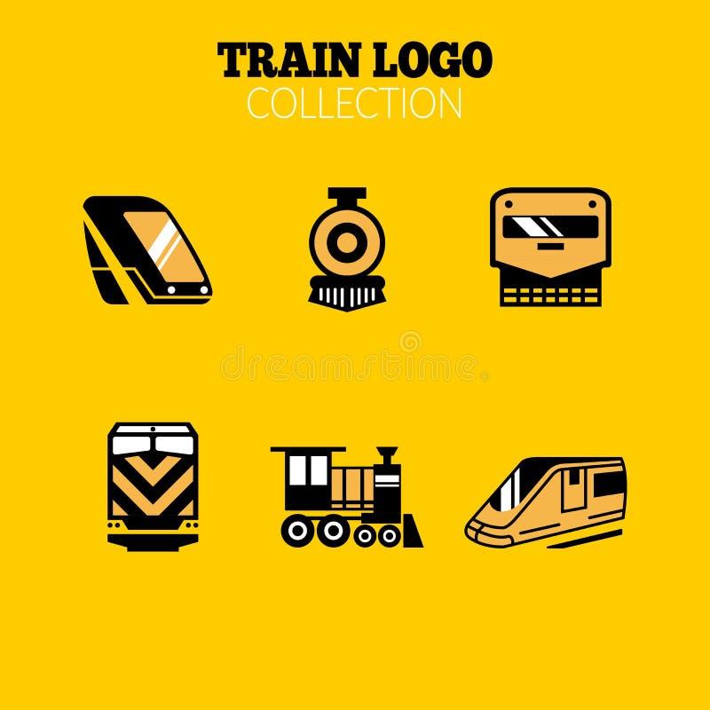 Taborowa logo kolekcja, epopeja taborowy logo, taborowi logo, taborowa ikona ilustracji