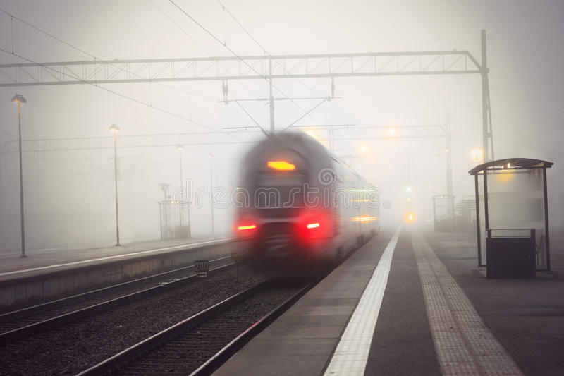 Taborowa opuszcza stacja obrazy stock