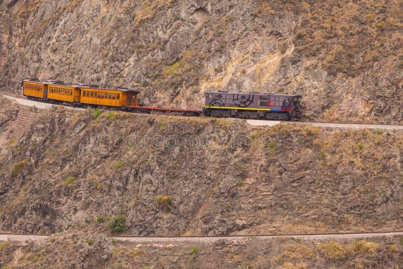 Taborowa przejażdżka, Nariz Del Diablo zdjęcie stock