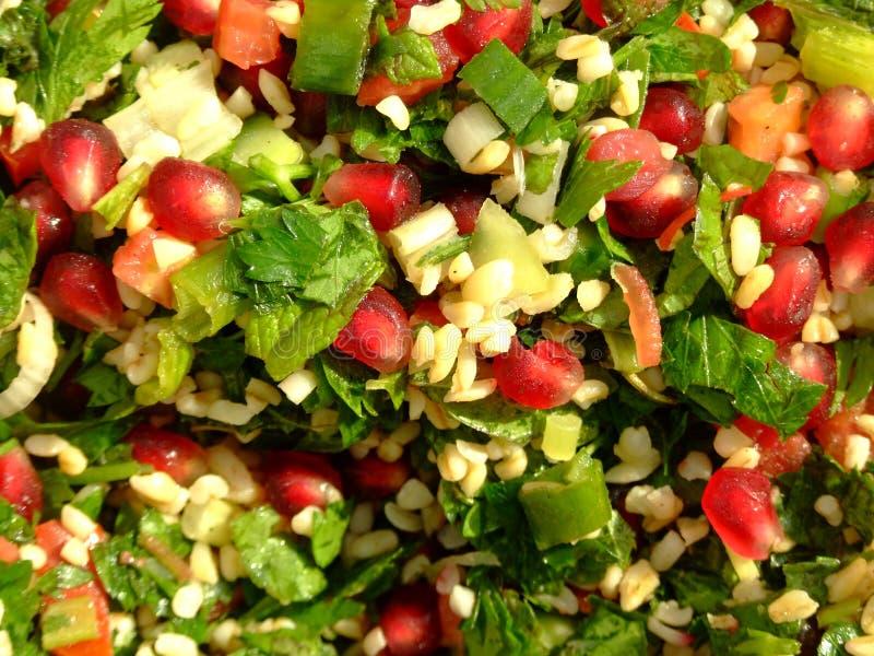 Tabouleh salad royalty free stock photo