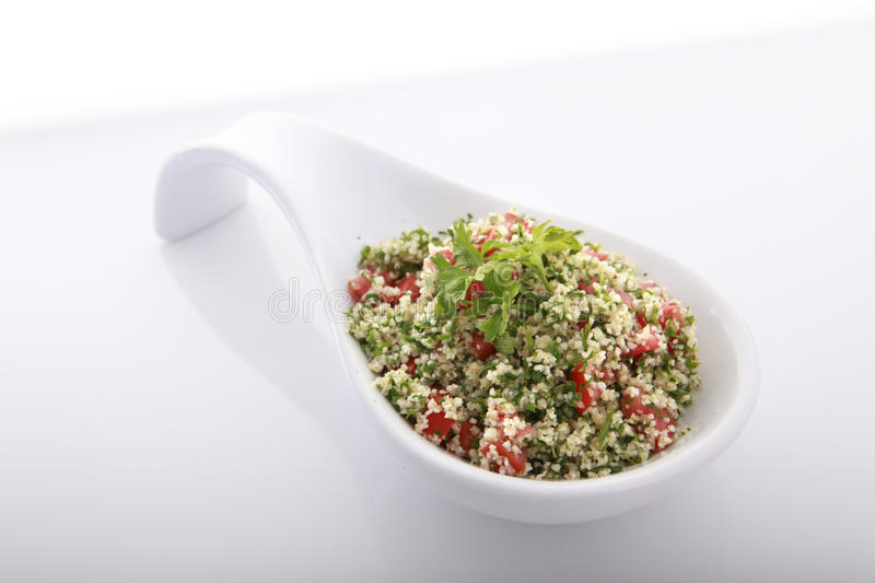 Download Tabouli stock photo. Image of finger, lebanese, catering - 9498480