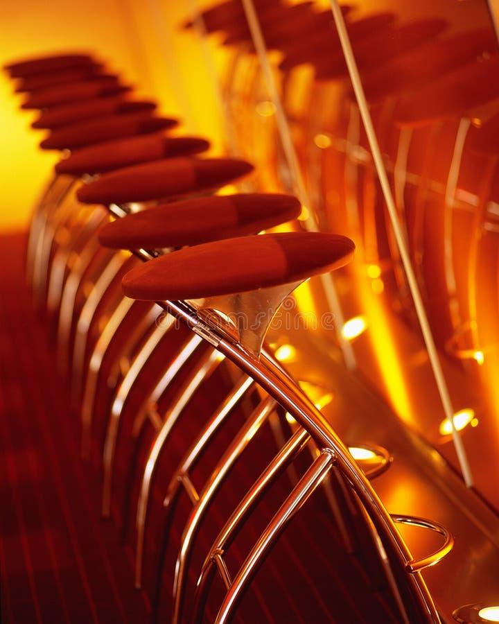 Tabourets de bar photo libre de droits