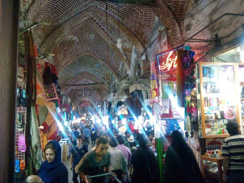 Tabriz bazzar imagens de stock royalty free