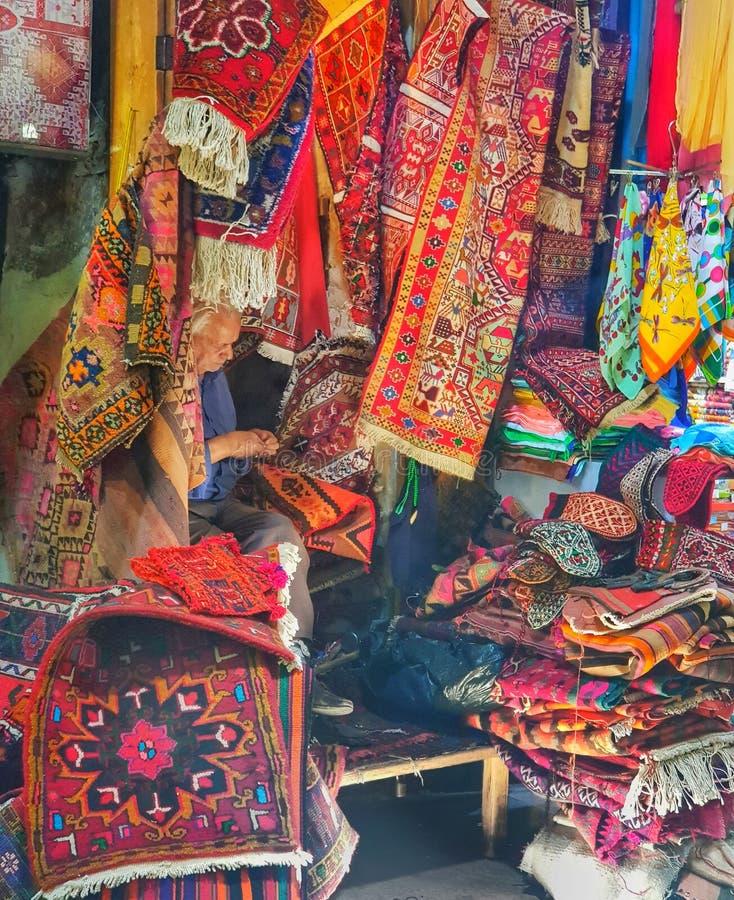 Tabriz bazzar in iran royalty free stock photography
