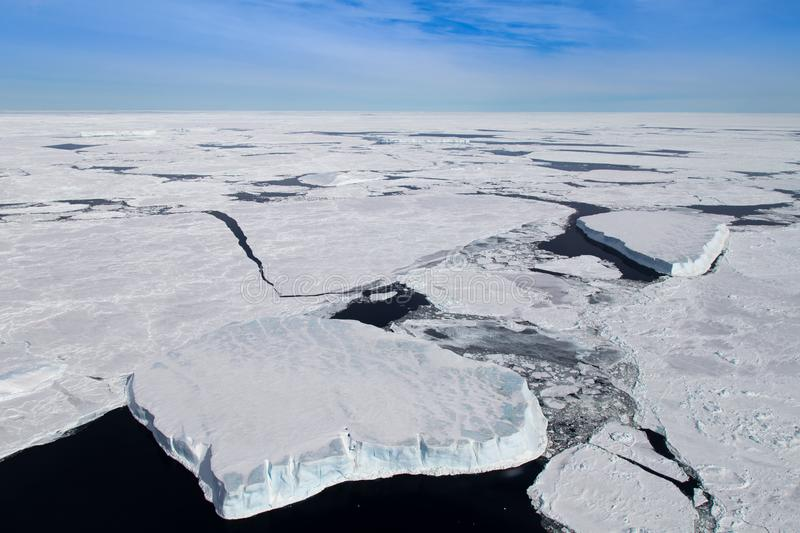 Sea ice in the Weddell Sea royalty free stock photography