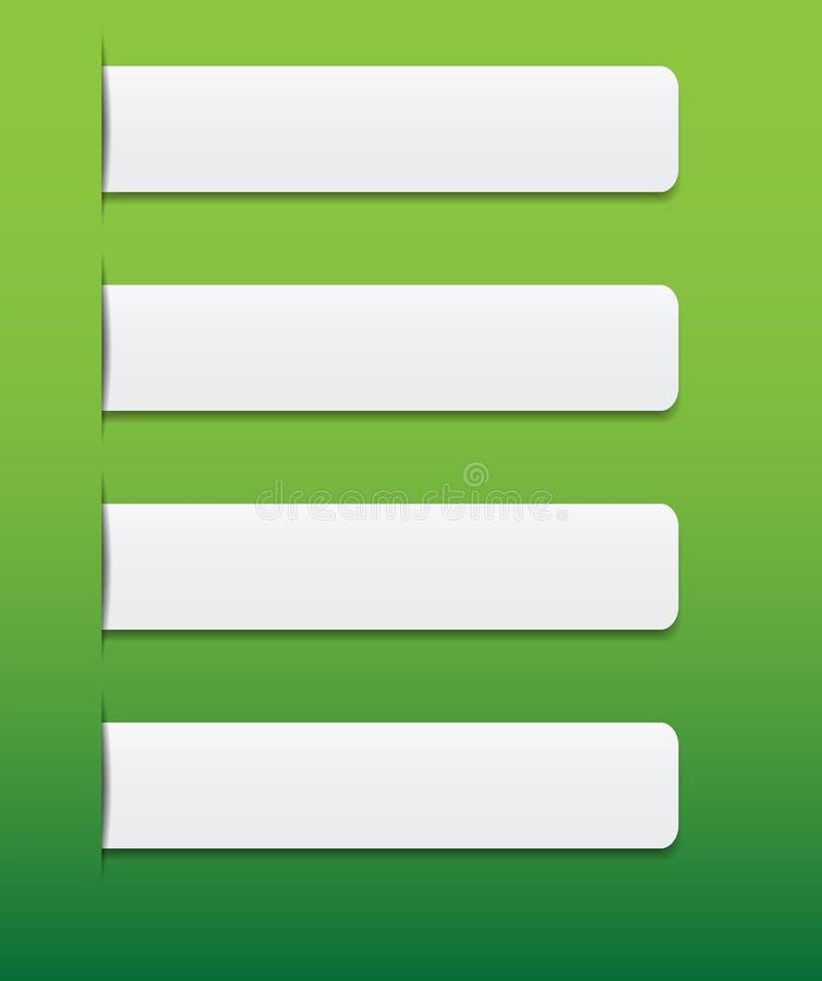 Tabulazione di Web site royalty illustrazione gratis