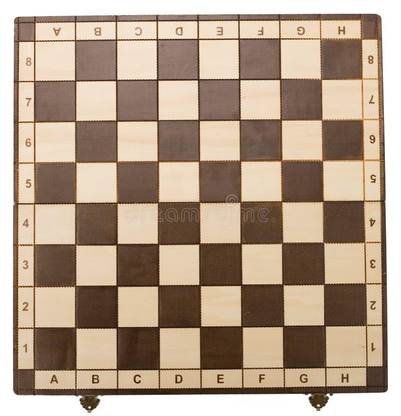 Tabuleiro de xadrez vazio imagens de stock