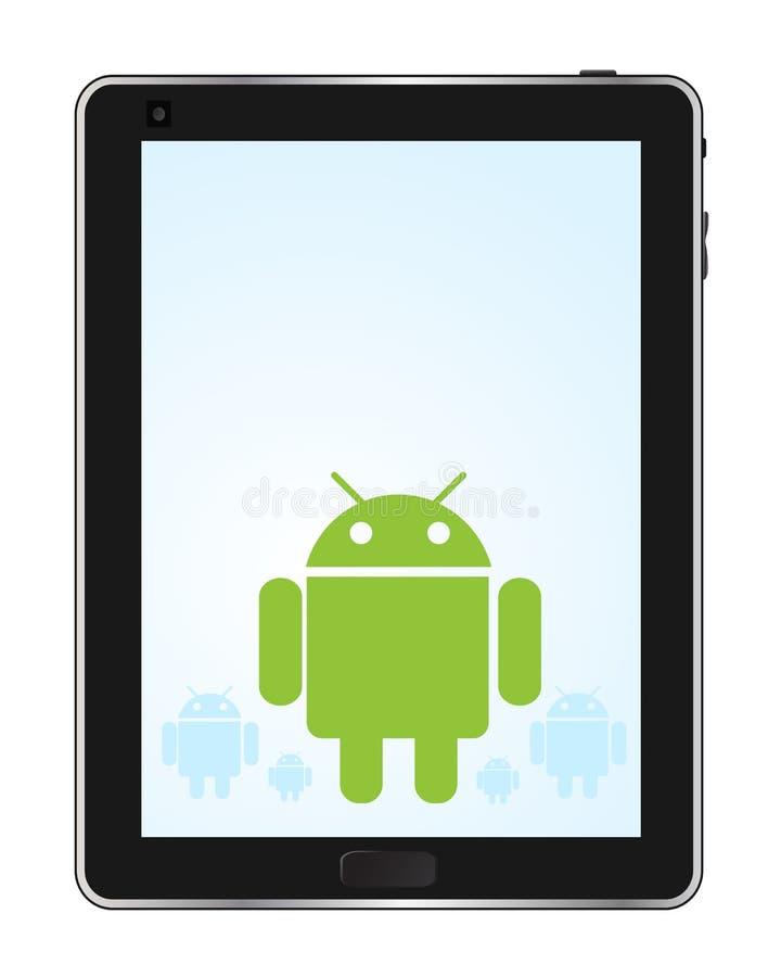 Tabuleta do Android ilustração do vetor