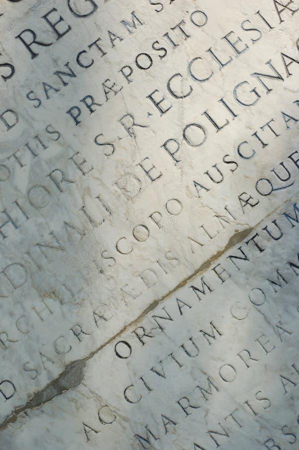 Tabuleta romana fotografia de stock royalty free