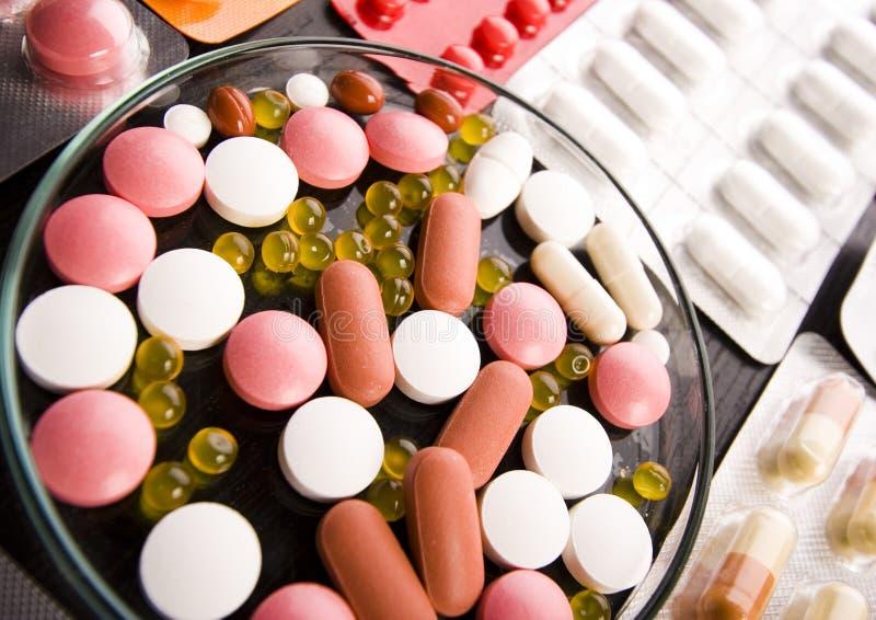Tabuletas & medicinas foto de stock