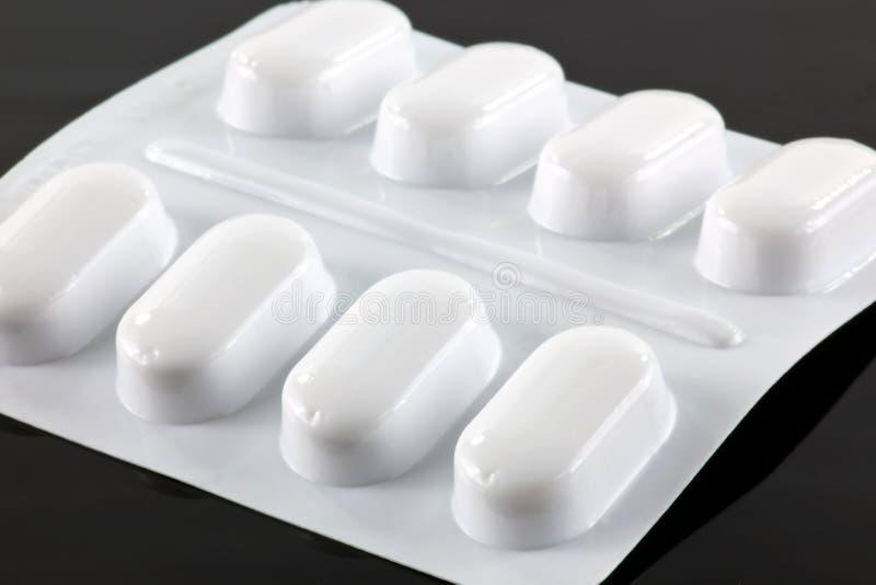 Tabuletas do paracetamol fotos de stock royalty free
