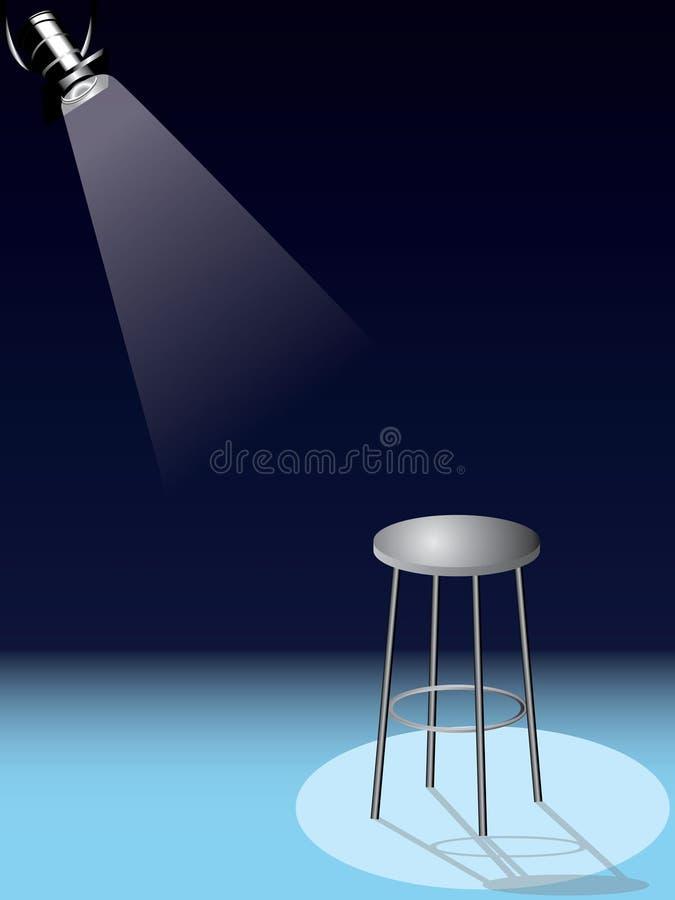 Taburete bajo vector del proyector libre illustration