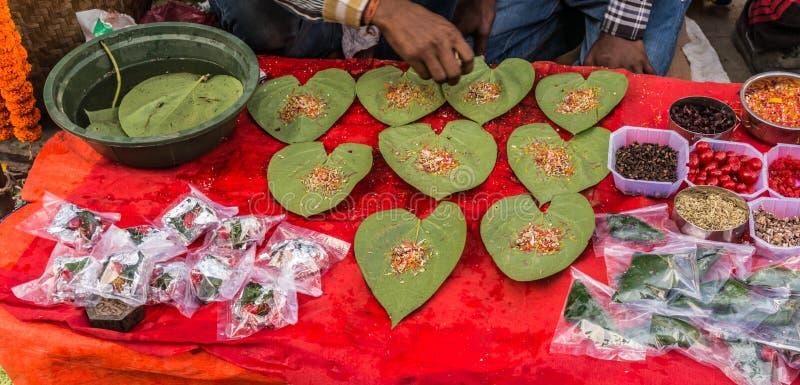 Taburete del mercado por el festival de Tihar Deepawali y el Año Nuevo de Newari en Kathmandy imagen de archivo libre de regalías