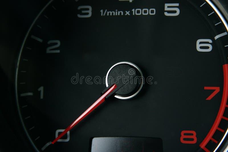 Tacómetro del coche imagenes de archivo