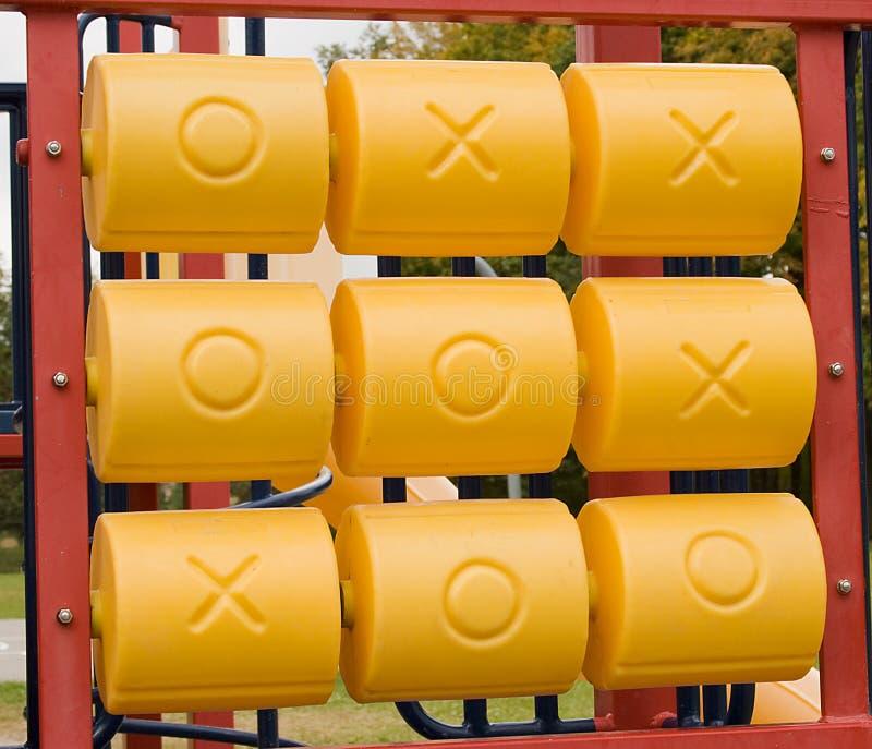 Tac van de Tic van de speelplaats Teen royalty-vrije stock fotografie