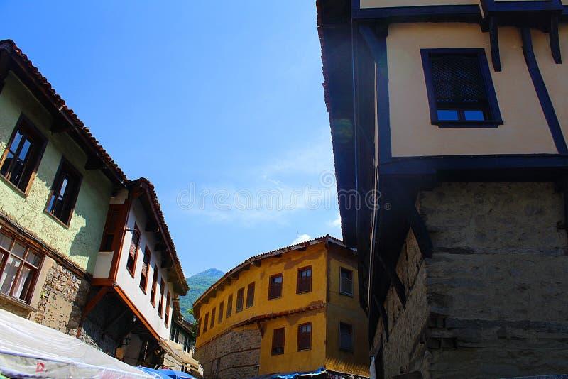 Tacchino della casa del cumalikizik di Uniq Bursa immagini stock libere da diritti