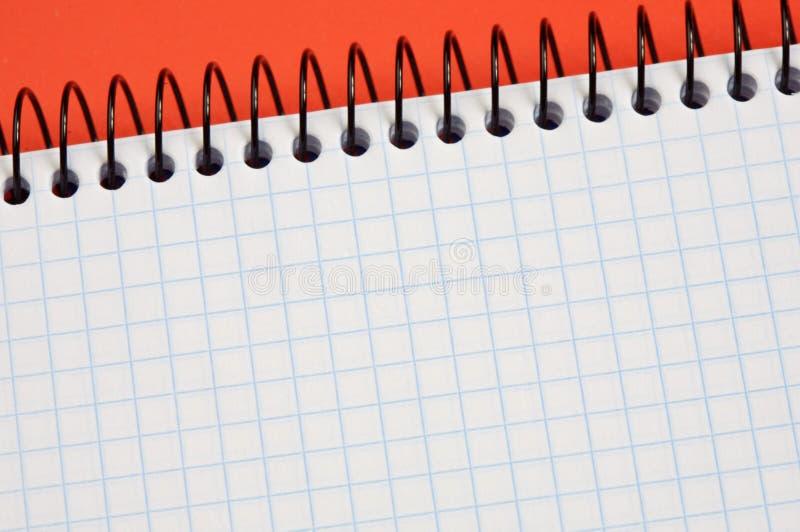 Taccuino - scriva il vostro testo fotografia stock