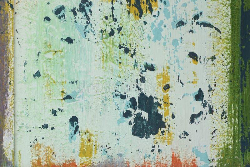 Taché marquez le fond à la craie abstrait de peinture photographie stock libre de droits