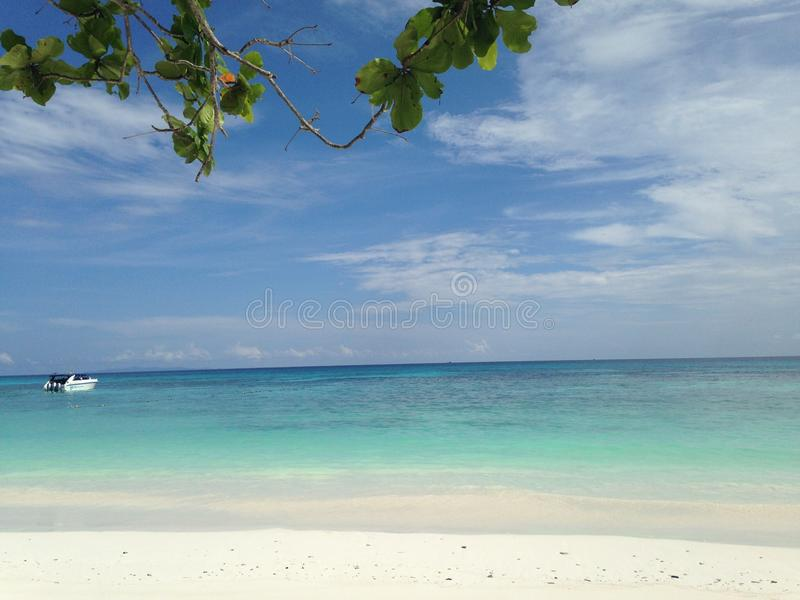 Tachai Island royalty free stock photography