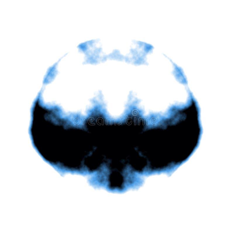 Tache d'encre de Rorschach illustration de vecteur