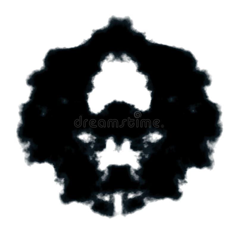 Tache d'encre de Rorschach illustration stock