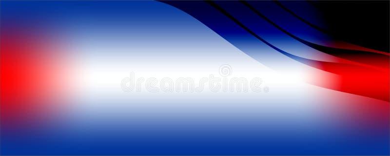 Tache floue bleue blanche de résumé rouge foncé et fond de sable avec la lumière du soleil illustration stock