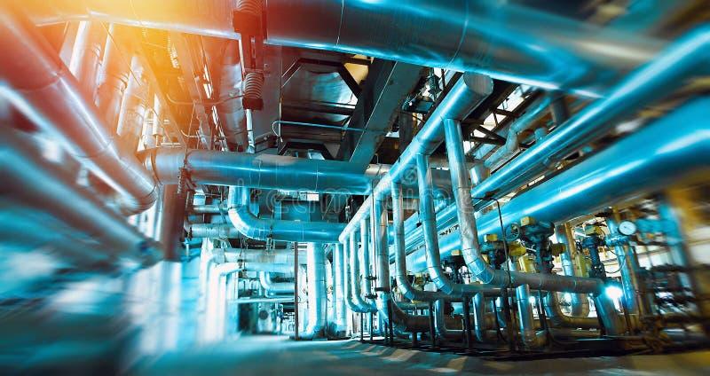 tache floue, brouillée, tuyau, canalisation, machine, intérieur, à l'intérieur de, usine, images libres de droits