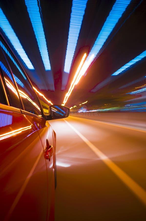 Tache floue de mouvement de voiture photo stock