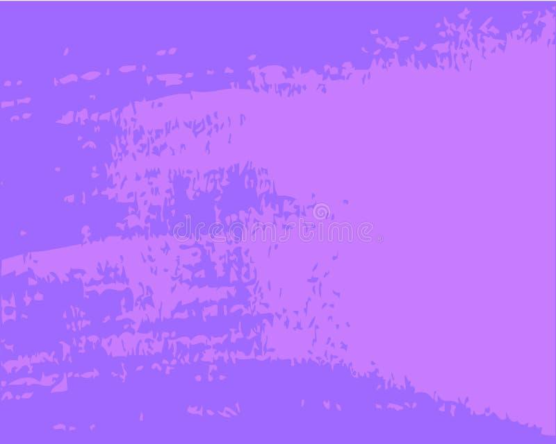 Tache lilas de modèle de résumé sur le fond bleu illustration libre de droits