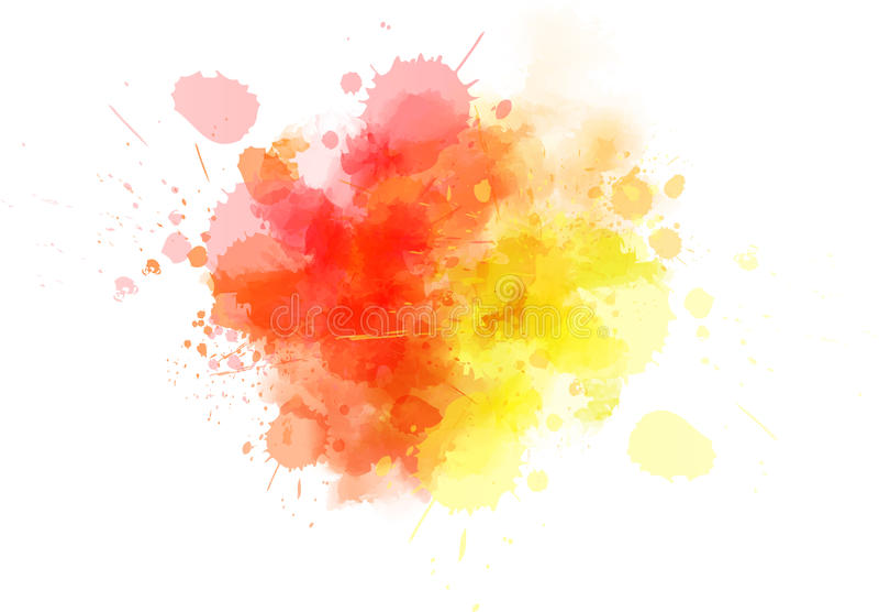 Tache multicolore illustration libre de droits
