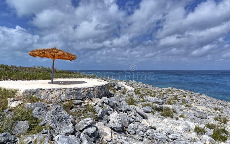 Tache tranquille sur l'île photo libre de droits