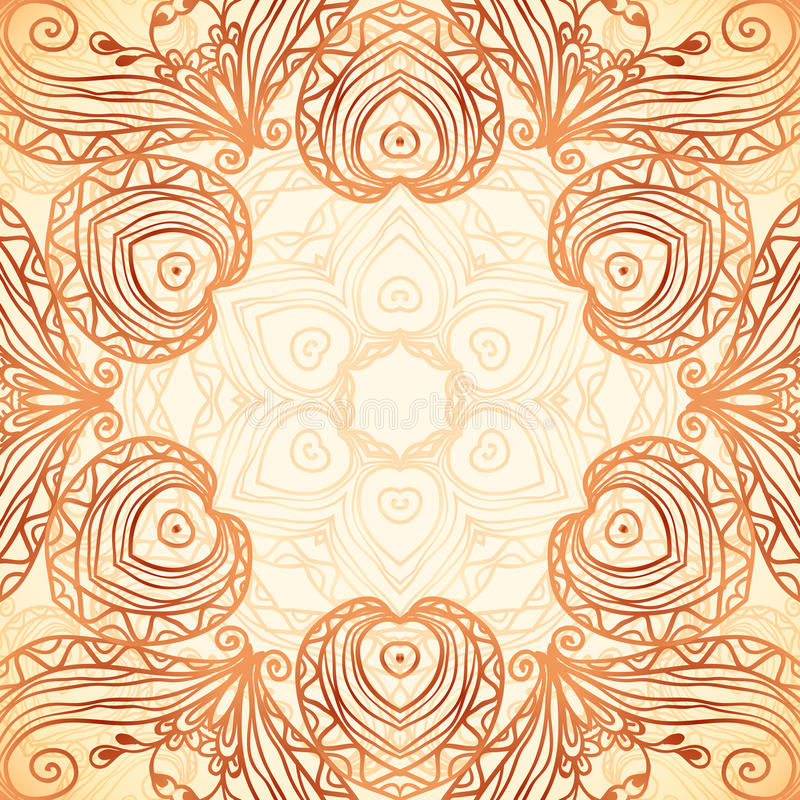 Tache violette de texture de marqueur illustration libre de droits