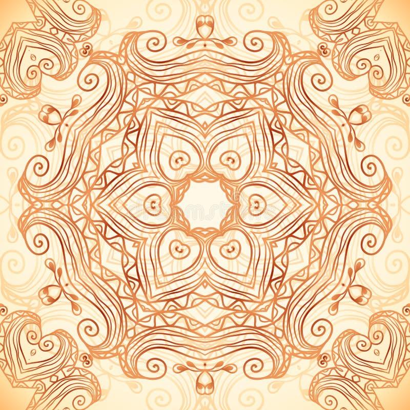 Tache violette de vecteur de texture de marqueur illustration libre de droits