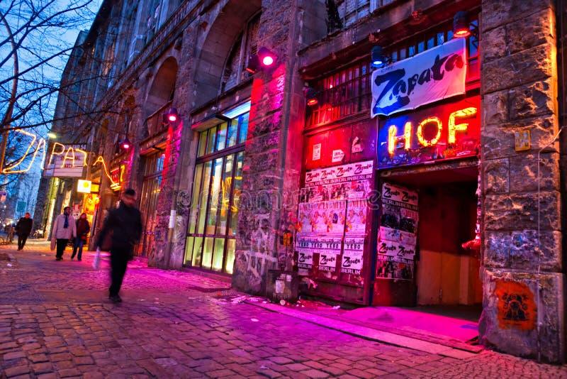 tacheles kunsthaus berlin стоковое фото