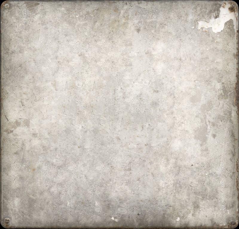 Taches couvrant et de plaque métallique rouillé de vis images libres de droits