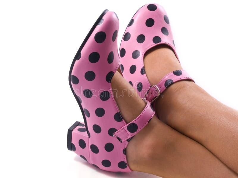 taches de chaussures images stock