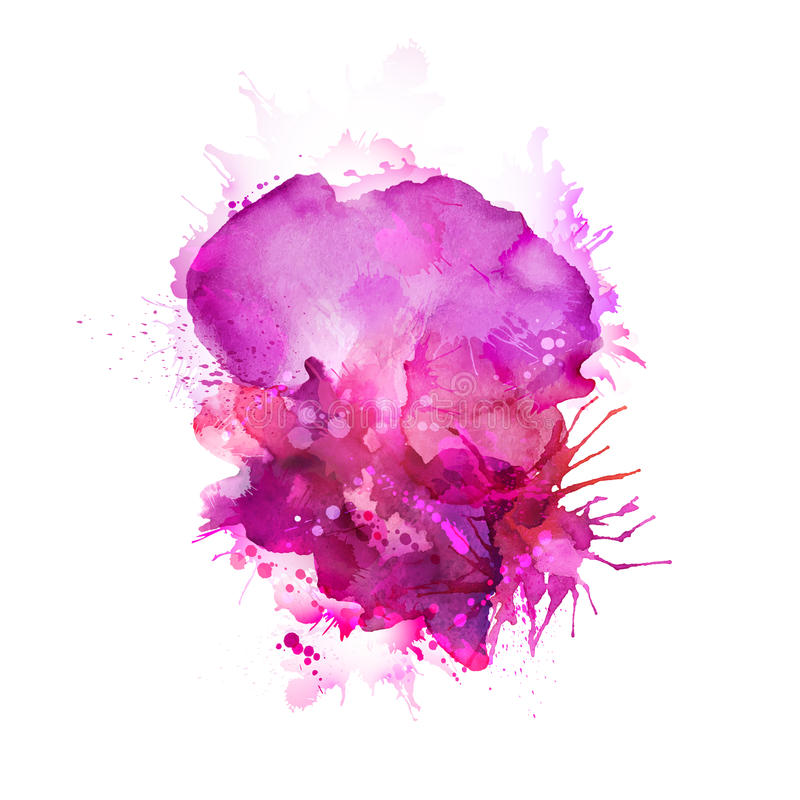 Taches de rose illustration libre de droits