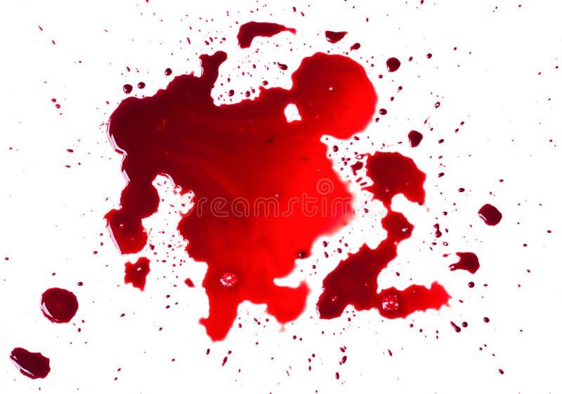 Taches de sang (magma) photo stock