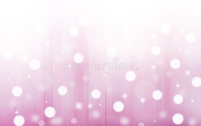 Taches floues attrayantes Fond de ton de couleur en pastel Avec le cercle photographie stock