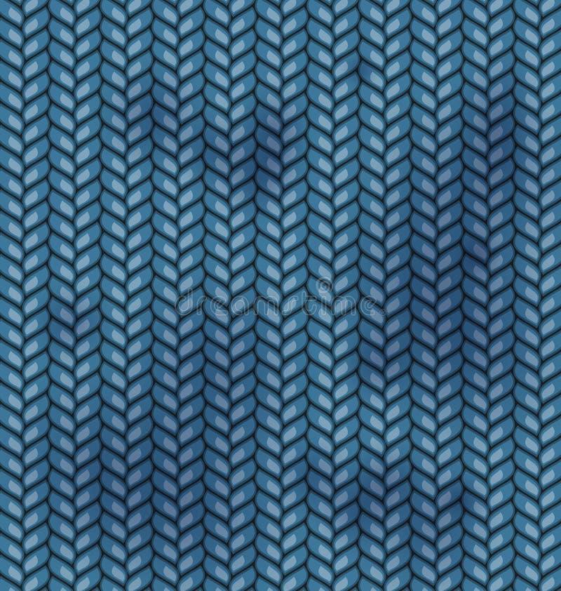 Taches sales de texture de laines de tissu illustration de vecteur