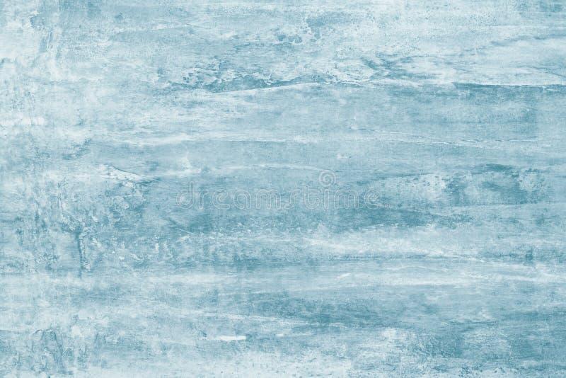 Taches vertes bleues gris-clair de peinture sur la toile Illustration abstraite avec les taches grises sur le fond mou Contexte a photo libre de droits