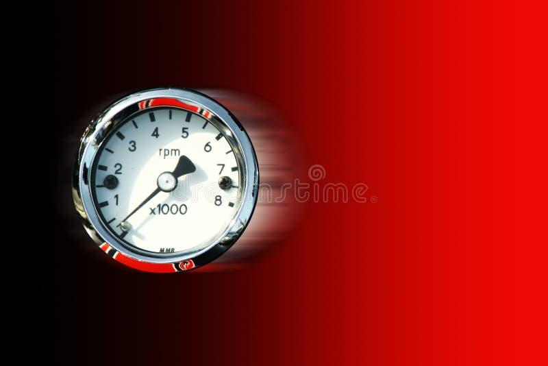 Tachimetro fotografie stock