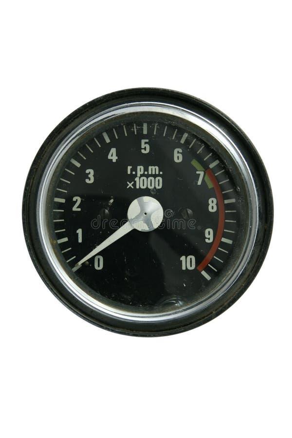Tachometer stockfoto