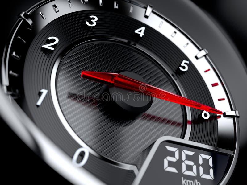 Tachometer royalty free illustration