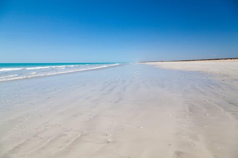 Tachtig mijlstrand westelijk Australië stock afbeeldingen